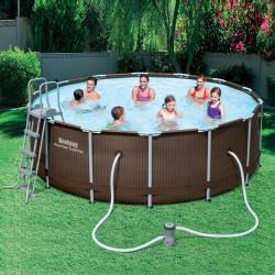 Bestway Basseng - Rattan Frame Pool Model 56483 - 427x122cm