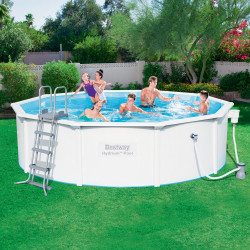 Bestway Basseng - Steel Wall Pool Model 56382 - 460x120cm