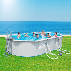 Bestway Basseng - Steel Wall Pool Model 56371 - 610x360x120cm