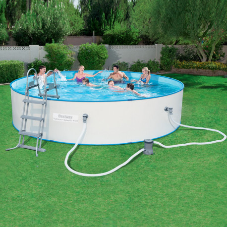 Bestway Basseng - Steel Wall Pool Model 56386 - 460x90cm