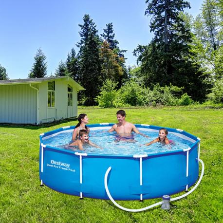 Bestway Basseng - Steel Pro Frame Pool Model 56408 - 305x76cm