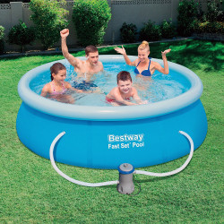 Bestway Basseng - Fast Set Pool Model 57268 - 244x66cm