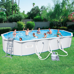 Bestway Basseng - Steel Wall Pool Model 56604 - 740x360x120cm