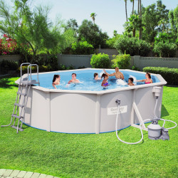 Bestway Basseng - Steel Wall Pool Model 56586 - 500x360x120cm