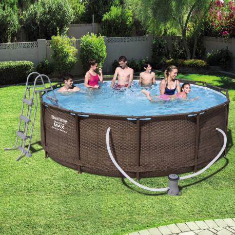 Bestway Basseng - Rattan Frame Pool Model 56379 - 366x100cm