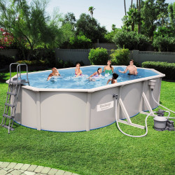 Bestway Basseng - Steel Wall Pool Model 56369 - 610x360x120cm