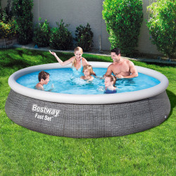 Bestway Basseng - Fast Set Pool Model 57376 - 396x84cm