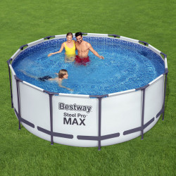 Bestway Basseng - Steel Pro MAX Frame Pool Model 56420 - 366x122cm