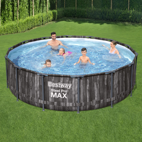 Bestway Basseng - Steel Pro MAX Frame Pool Model 5614Z - 427x107cm