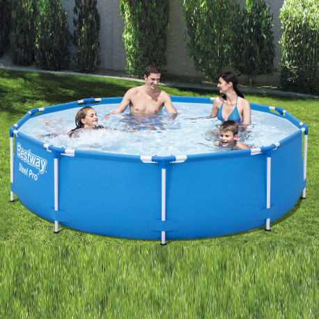 Bestway Basseng - Steel Pro Frame Pool Model 56677 - 305x76cm