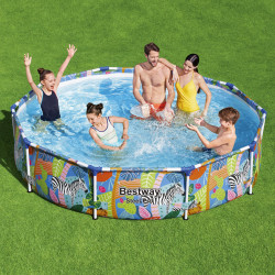 Bestway Basseng - Steel Pro Frame Pool Model 56985 - 305x66cm